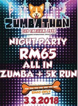Zumbathon + 5km Run 2018