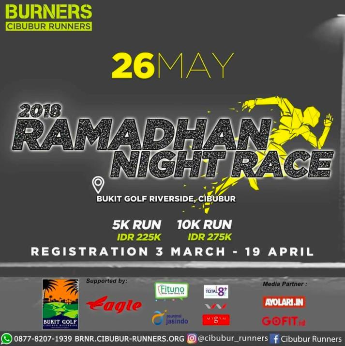 Burners Ramadhan Night Race 2018