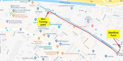 Running Race Route Maps Gallery Just Run Lah - Run calculator map