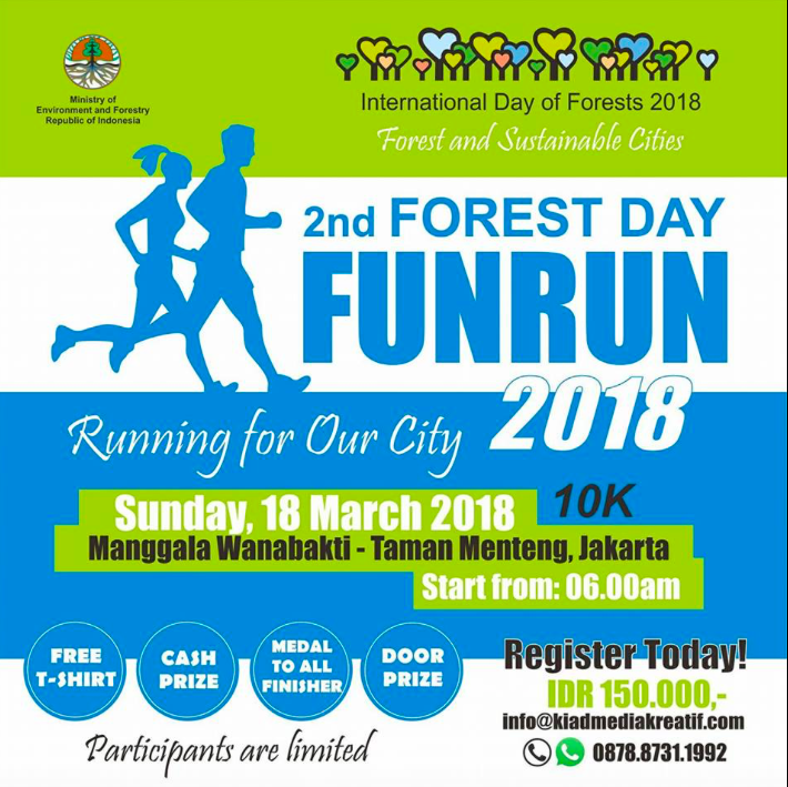 Forest Day Fun Run 2018