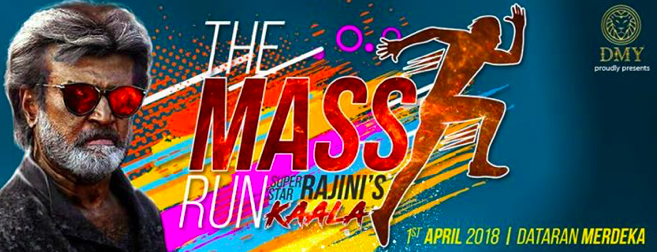The Mass Run 2018 (Superstar Rajini's Kaala)