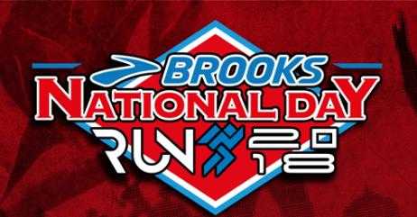 Brooks National Day Run 2018