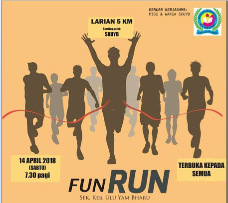 Fun Run SKUYB 2018