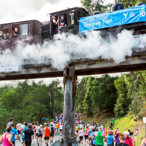 Great Train Race – Puffing Billy 2018