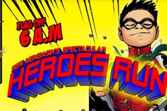 Seri Mengasih Heroes Run 2018
