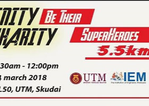 Infinity Charity Run: Be Their Superheroes 2018