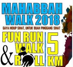 Mahabbah Walk 2018