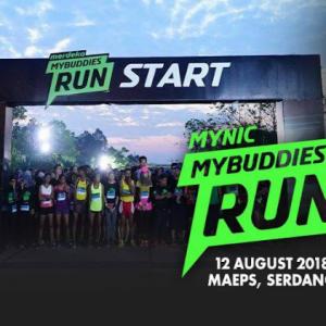 MYNIC MyBuddies Run 2018