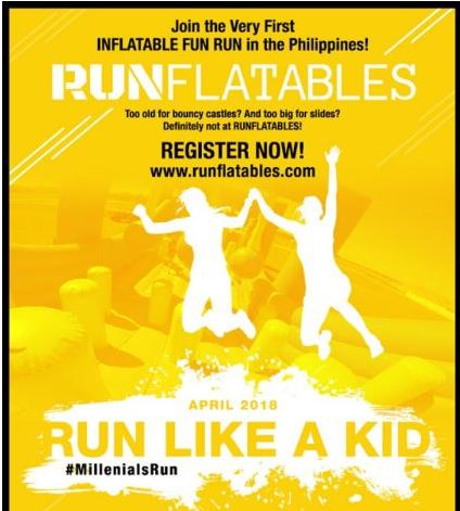 Runflatables: Run Like A Kid 2018