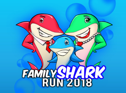 Family Shark Run 2018