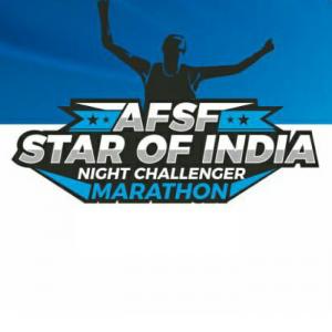 AFSF Star OF India Night Challenger Marathon 2018