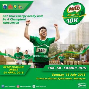 Milo Jakarta International 10K 2018