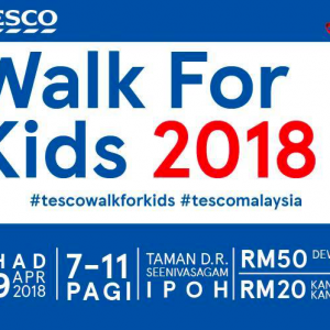 Tesco Walk For Kids 2018