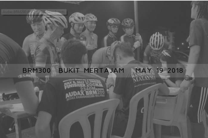 Audax BRM300 May 2018