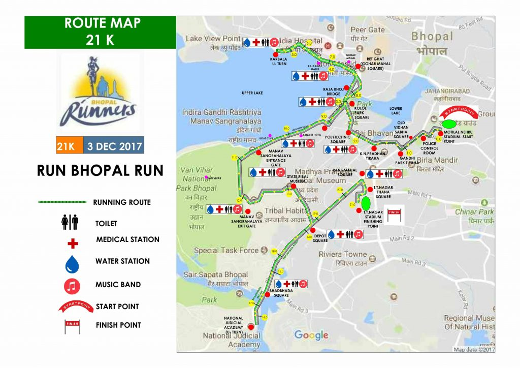 Run Bhopal Run 2018 Just Run Lah