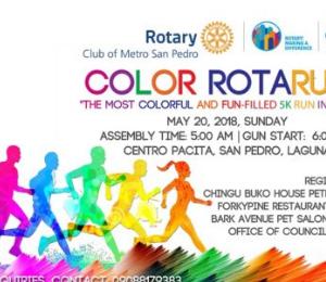 Color Rotarun 2018