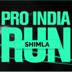 Pro India Run 10K Challenge – Shimla 2018