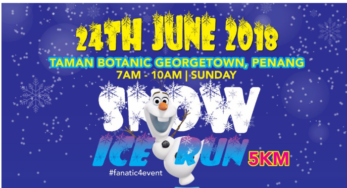 Snow Ice Run – Penang 2018