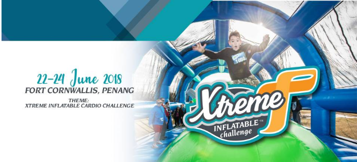 Xtreme Inflatable Cardio Challenge 2018
