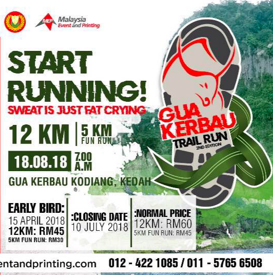 Gua Kerbau Trail Run 2018