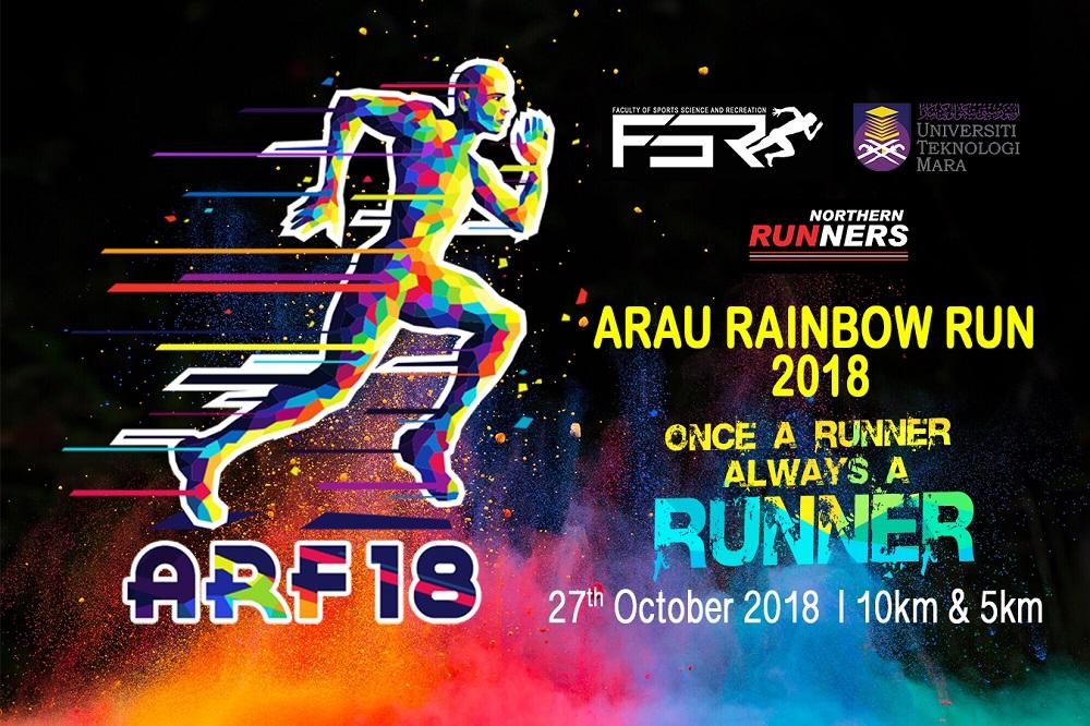 Arau Rainbow Run 2018