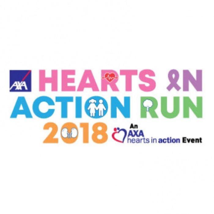 AXA Hearts In Action Run 2018