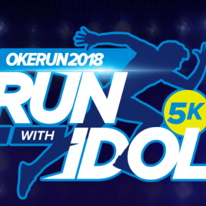 Okerun Run With Idols 2018