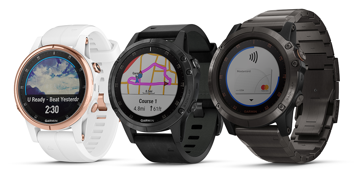 Garmin Debuts The Fenix 5 Plus In Singapore Adds Maps Music And