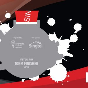 Singtel – Singapore Cancer Society Race Against Cancer 2018 Virtual Run