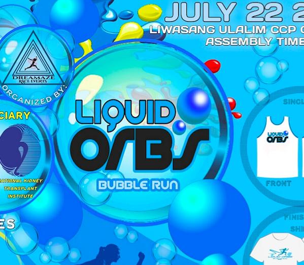 Liquid Orbs – Bubble Run 2018