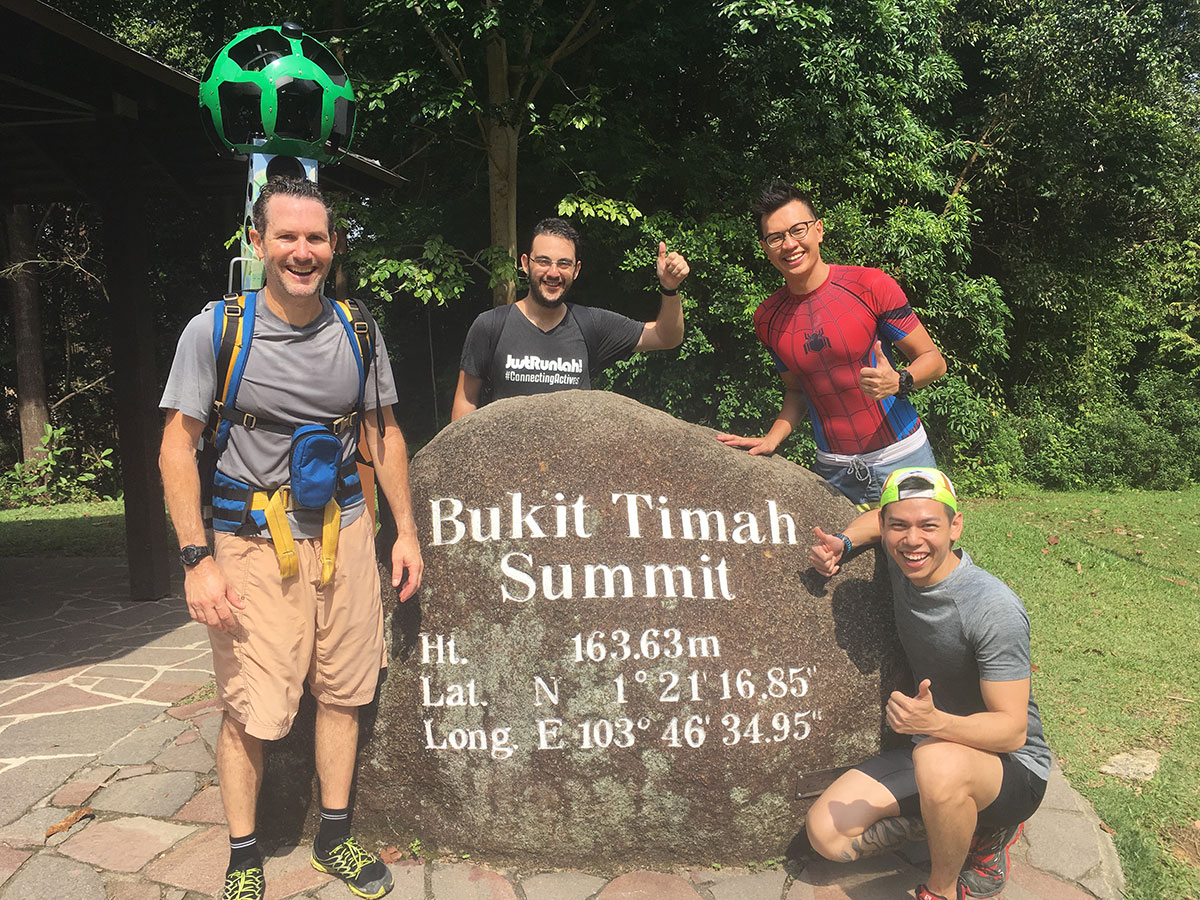 Bukit Timah Hill Is Now Live On Google Street View Justrunlah