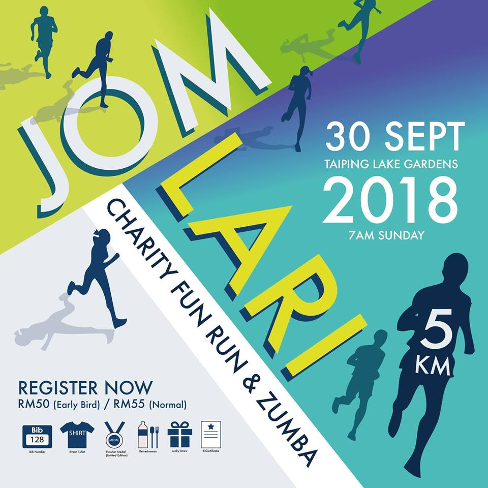 Jom Lari Fun Run 5km & Zumba 2018