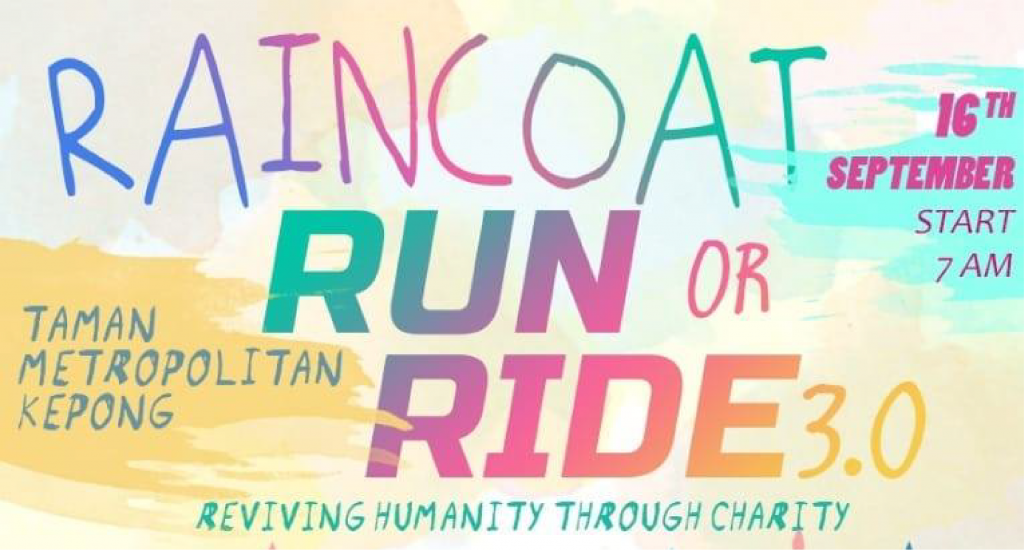 Raincoat Run or Ride 3.0 2018