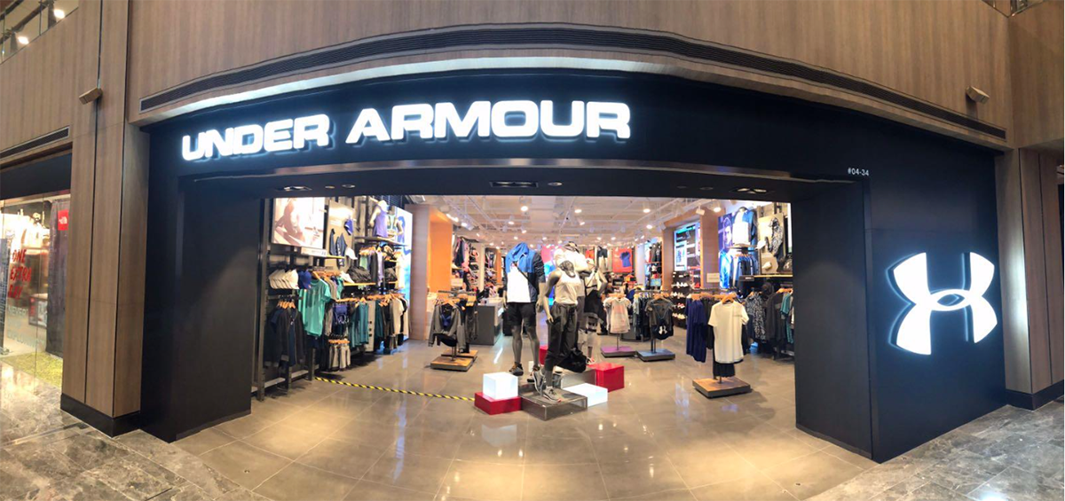 ede22df0 Under Armour Ramps Up Singapore Expansion With New Paragon Store ...