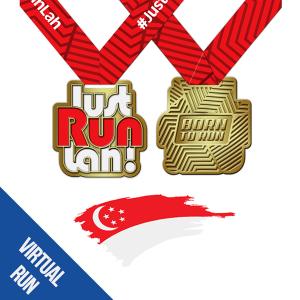 JustRunLah! Singapore Virtual Run: July 2018