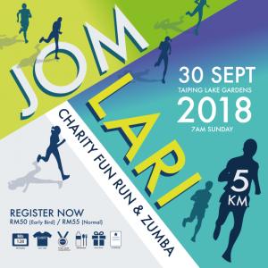Jom Lari Fun Run & Zumba 2018