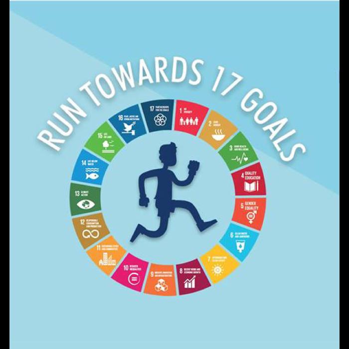 Run Towards 17 Goals 2018