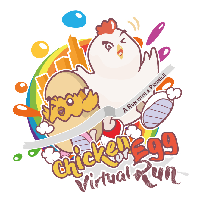 Logo of Chicken Or Egg Virtual Run 2018