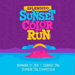 Splendido Sunset: Color Run Edition 2018