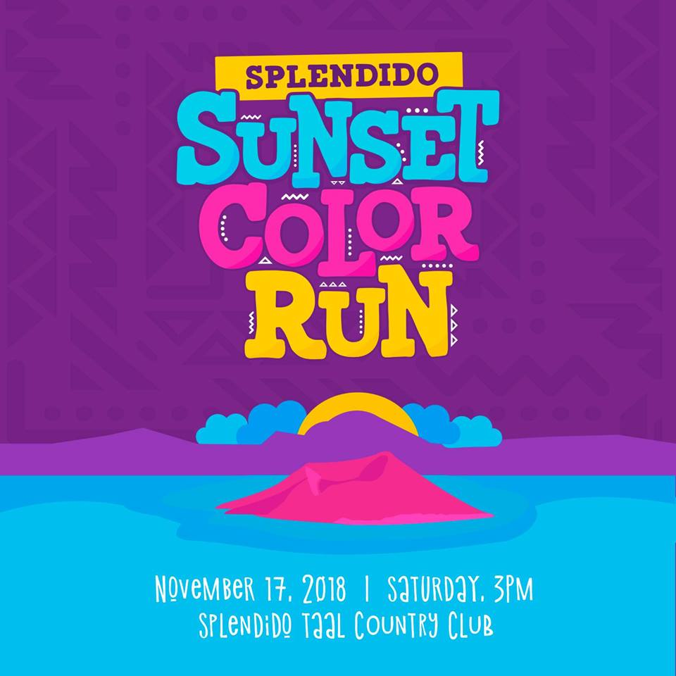 Splendido Sunset: Color Run Edition 2018