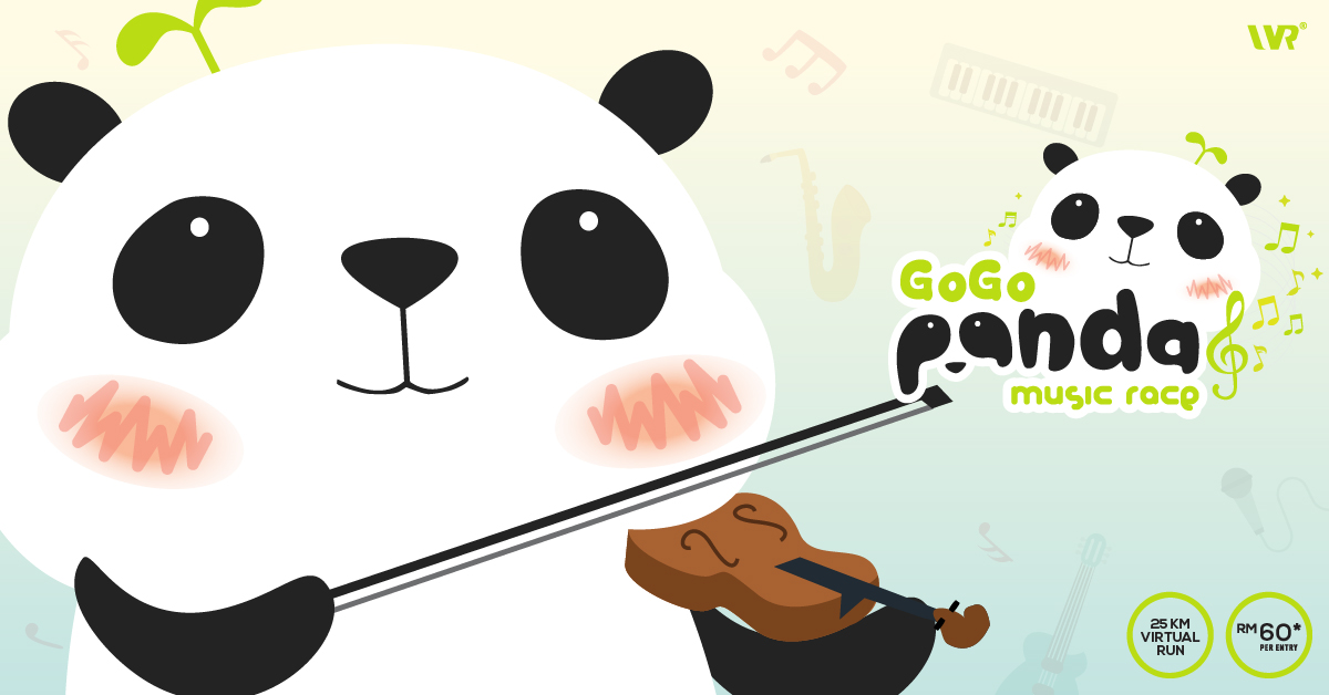 Logo of GOGO Panda Music Race 2018