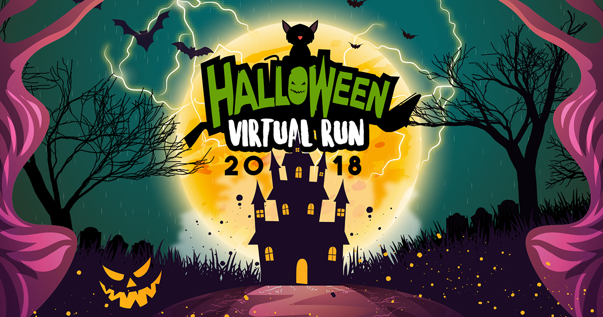 Logo of Halloween Virtual Run 2018