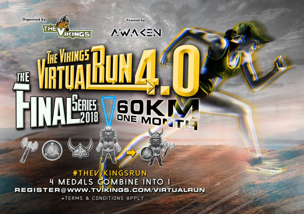 Logo of The Vikings Run 2018