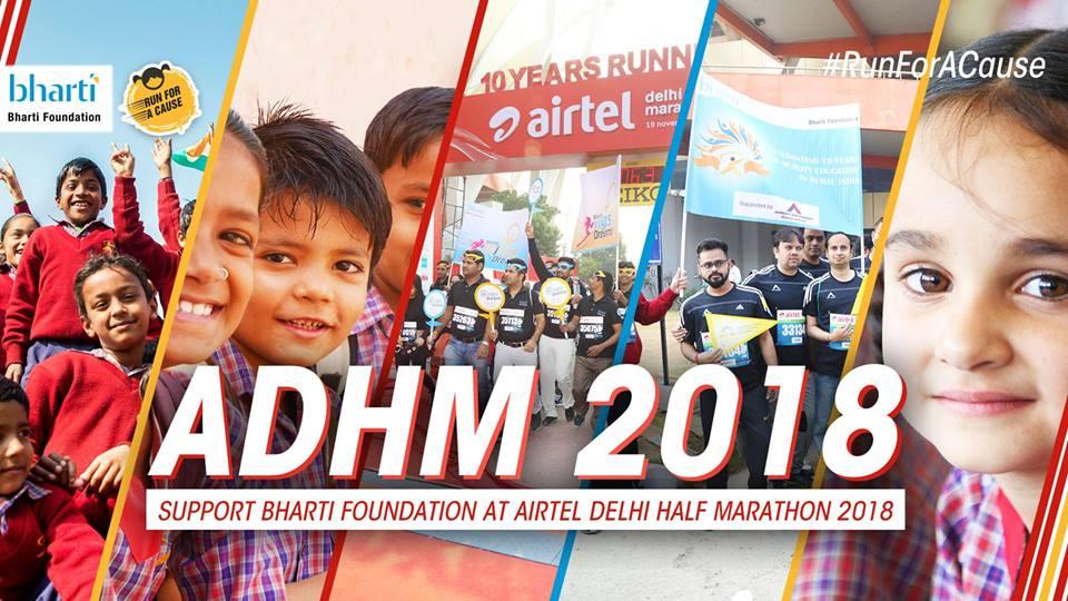 Airtel Delhi Half Marathon 2018