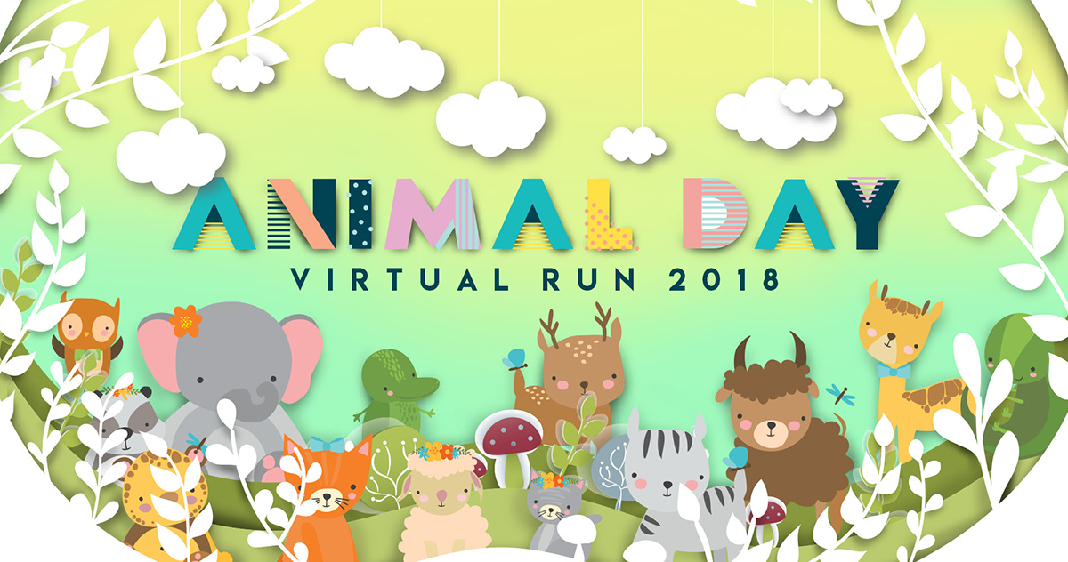Logo of World Animal Day Virtual Run 2018