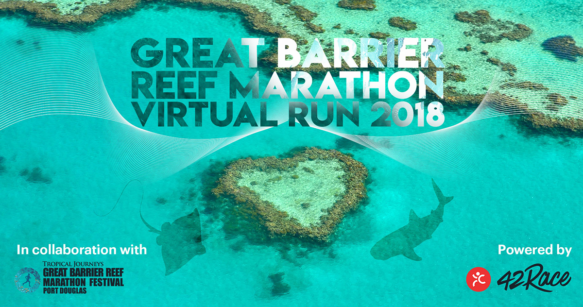 Logo of Great Barrier Reef Marathon Virtual Run 2018