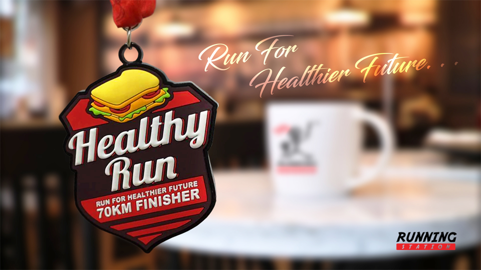 Logo of Healthy Run 2018