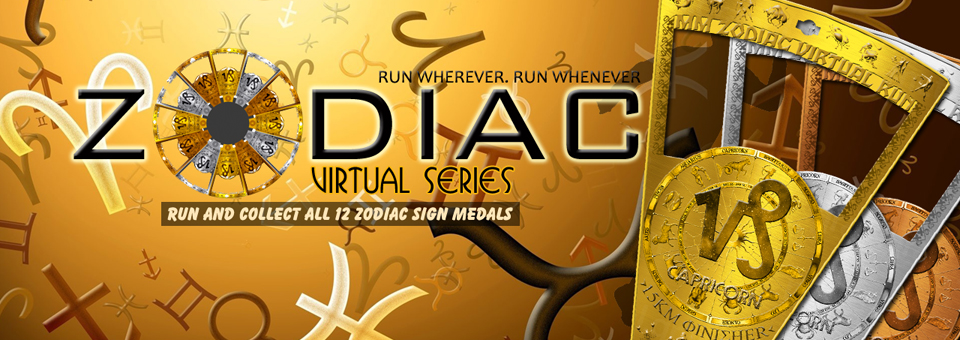 Logo of MM Zodiac Virtual Run – Aquarius 2018