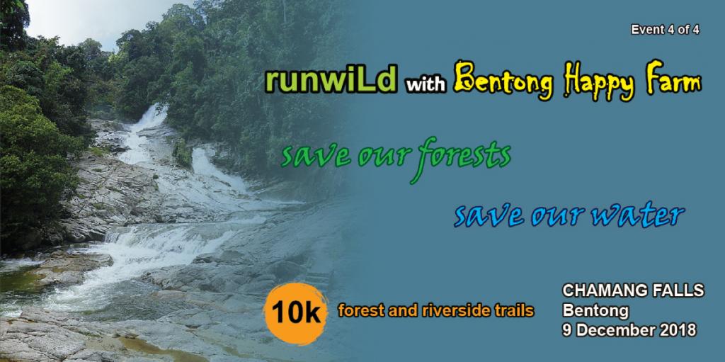 RunWild at Chemang Falls 10k Run 2018