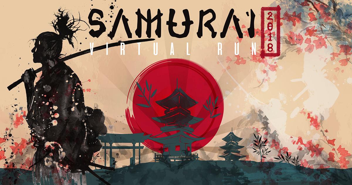 Logo of Samurai Virtual Run 2018